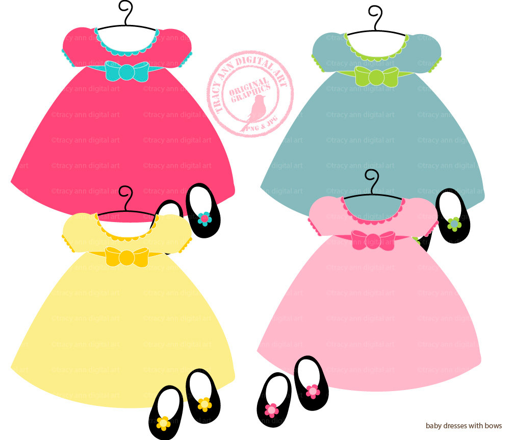 Doll Clothes Clipart.