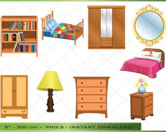Clip art home furniture.