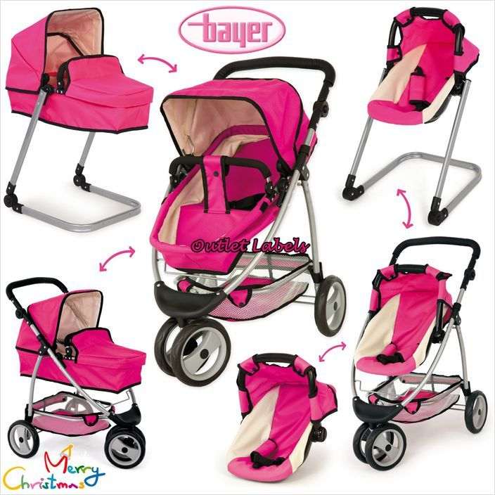 Bayer Design Doll Pram Neo (Pink) 4003336396294 on eBid United.