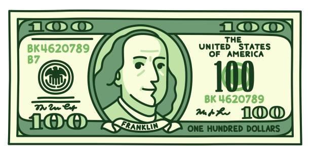Clipart 100 dollar bill 1 » Clipart Portal.
