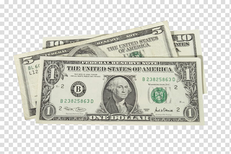 Pale s, US dollar banknote lot transparent background PNG clipart.