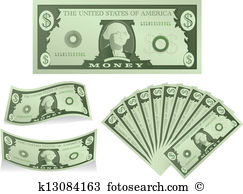Dollar bill Clipart Illustrations. 10,192 dollar bill clip art.