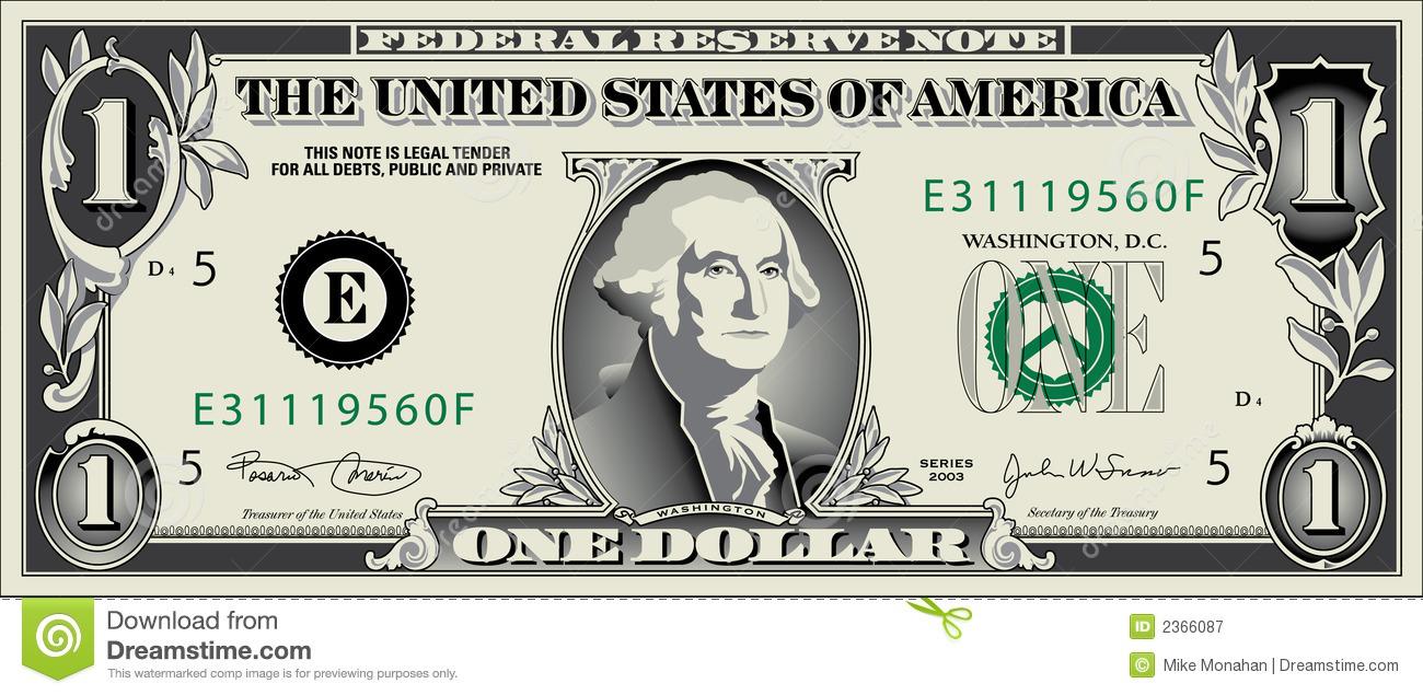Dollar Bill Clipart.