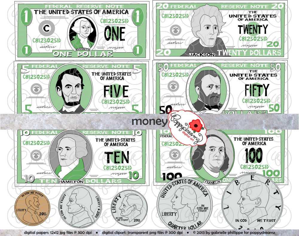 Dollar Clipart For Teachers.