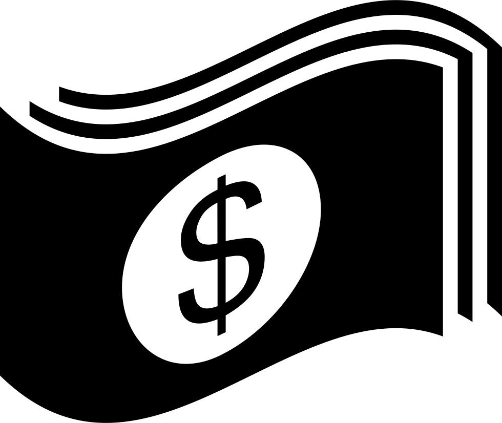 Waving Dollar Bills Svg Png Icon Free Download (#62120.