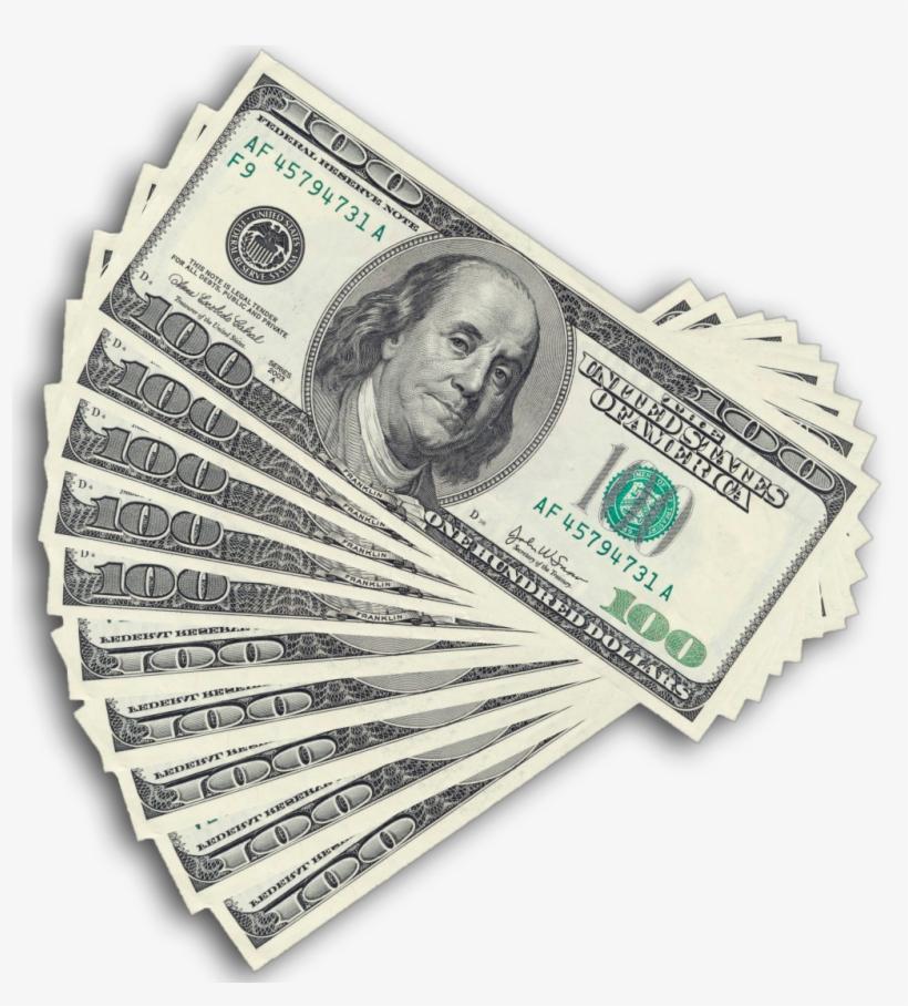 Dollar Banknotes Free Png Image.