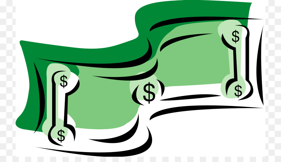 881 Dollar Bill free clipart.