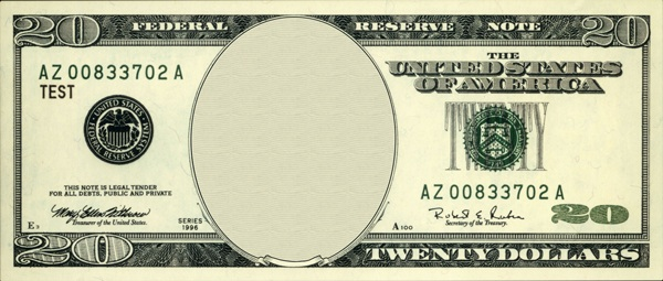 Free Blank Dollar Bill, Download Free Clip Art, Free Clip.