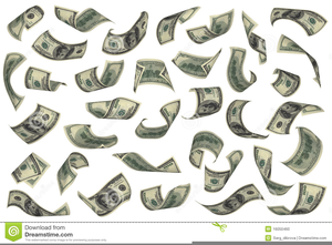 Hundred Dollar Bills Clipart.