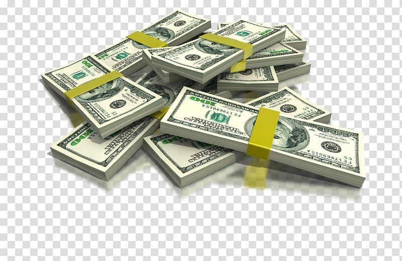 Money United States Dollar Canadian dollar , hundred dollar bills.