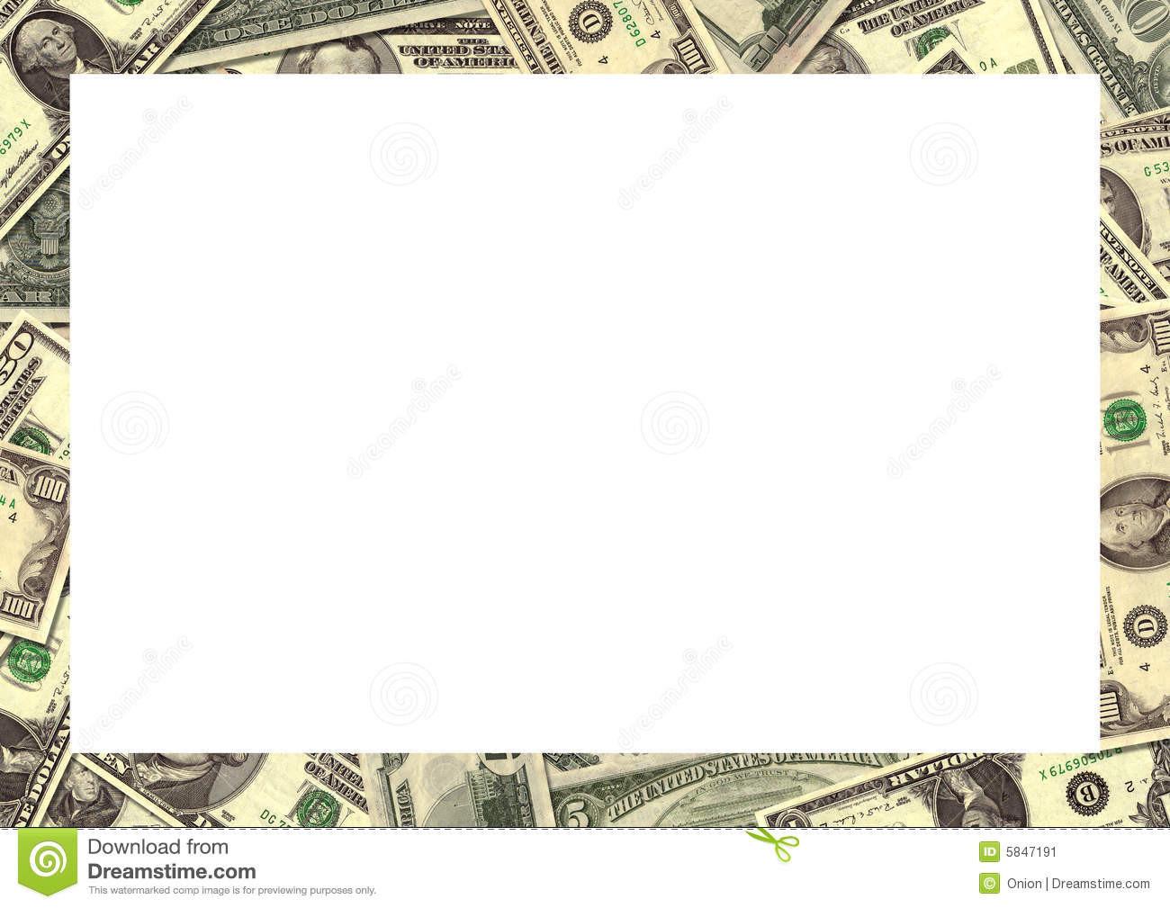 Dollars clipart border.