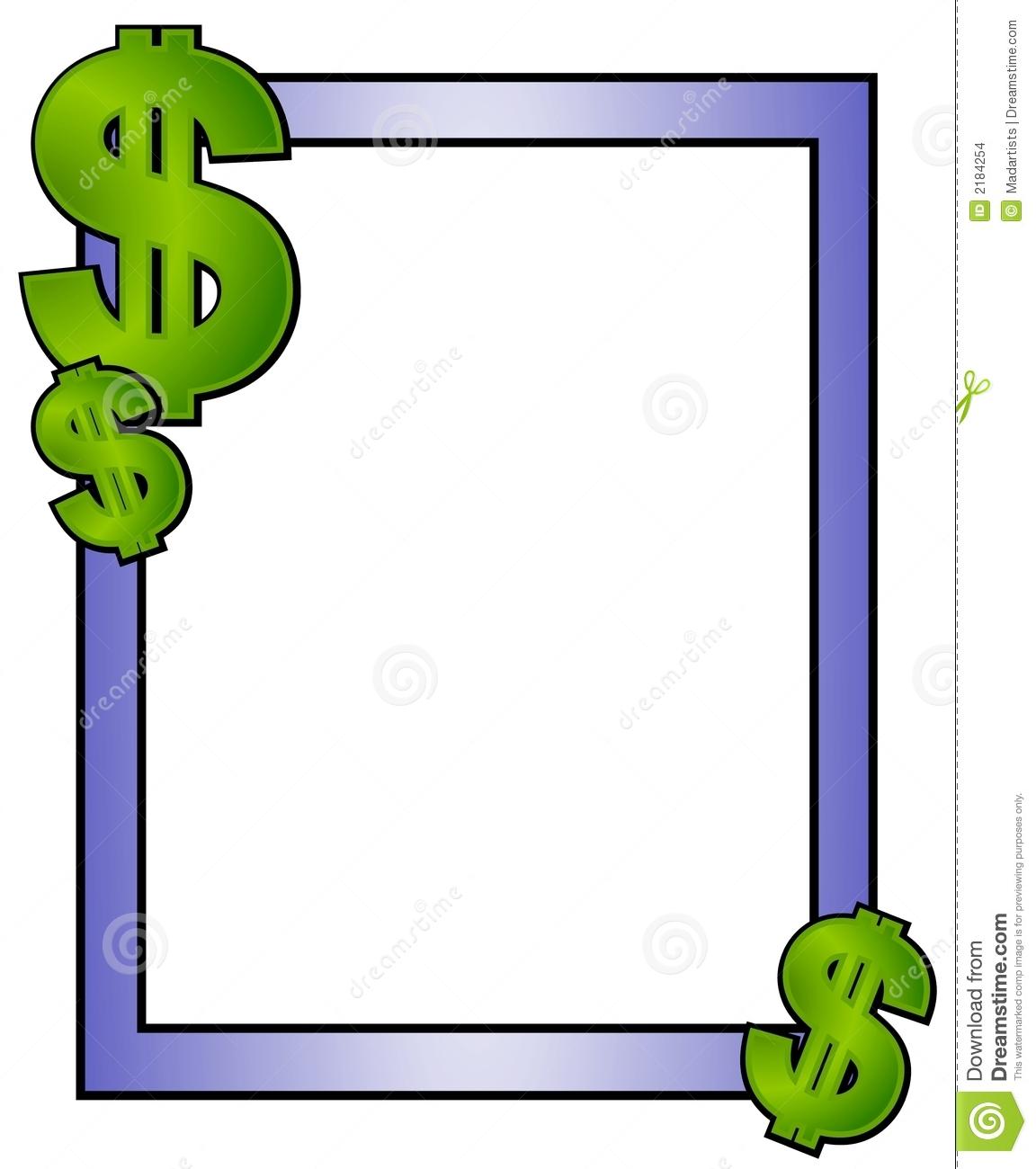 61+ Money Border Clip Art.