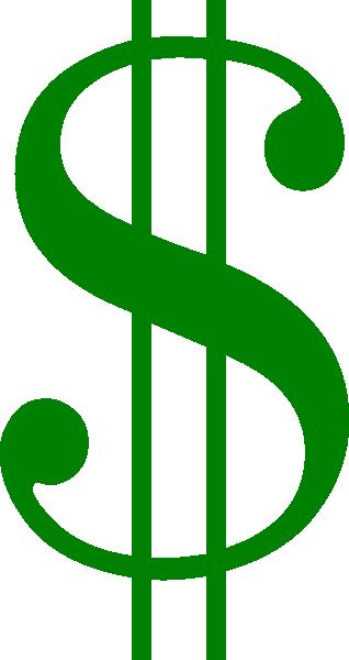Green Dollar Sign Clipart.