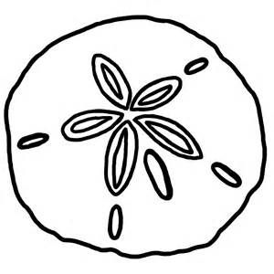 Sand Dollar Clipart Black And White.