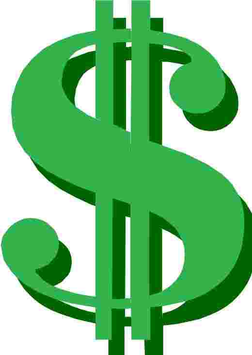 Best Cliparts: Free One Dollar Clipart Best Dollar Sign.
