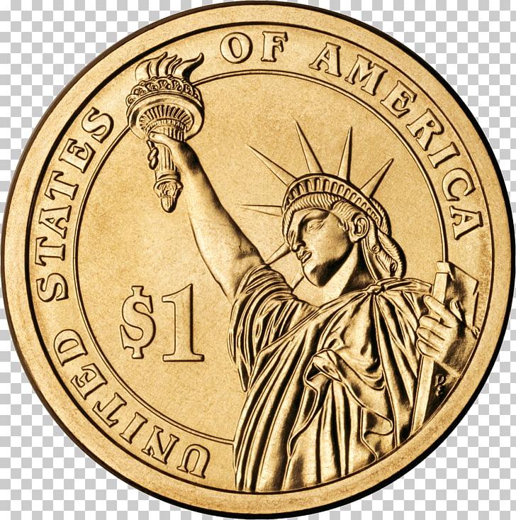 United States Dollar Dollar coin Presidential $1 Coin.