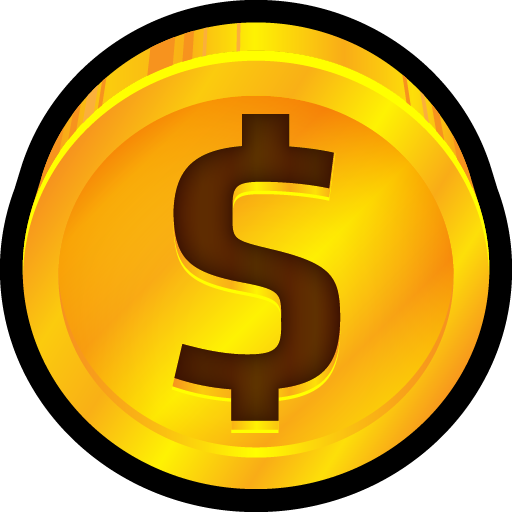 Cent, coin, currency, dollar, ecommerce, price, quarter icon.