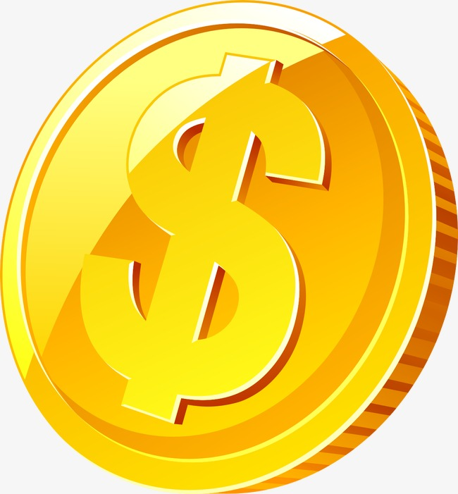 Coin, Money, Dollar PNG Image And Clipar #34588.