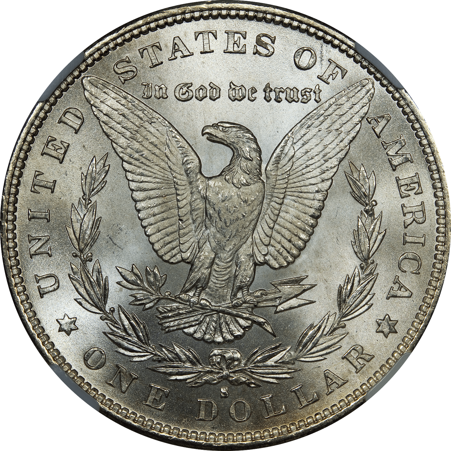 One Dollar Coin transparent PNG.