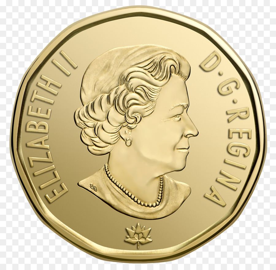 Download Free png 150th anniversary of Canada Dollar coin Loonie.