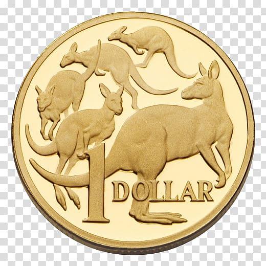 Royal Australian Mint Australian dollar Australian one dollar coin.