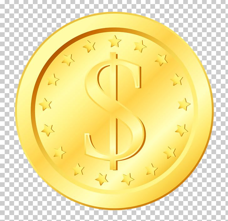 Dollar Coin United States Dollar Gold Coin PNG, Clipart, Circle.