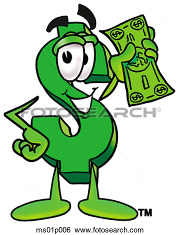 Money Clip Art Dollar Sign With Fotosearch Search Clipart.