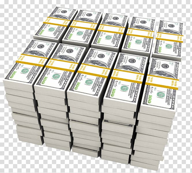 Bundle of 100 US dollar banknotes, United States Dollar Money.