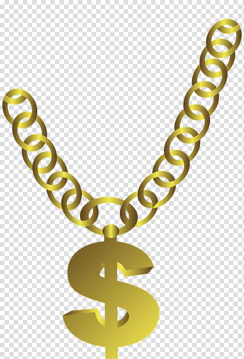 Gold dollar sign , Necklace Chain Gold Jewellery, Thug Life.
