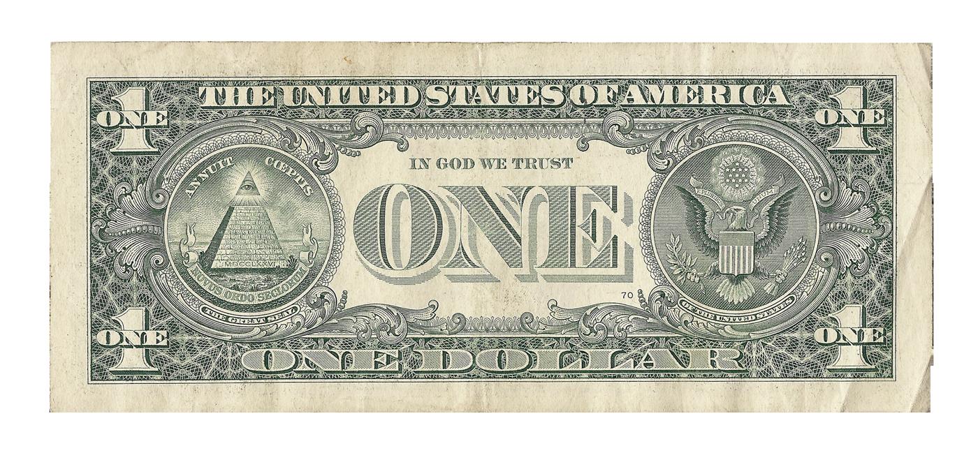 Dollar PNG Transparent Image 1.