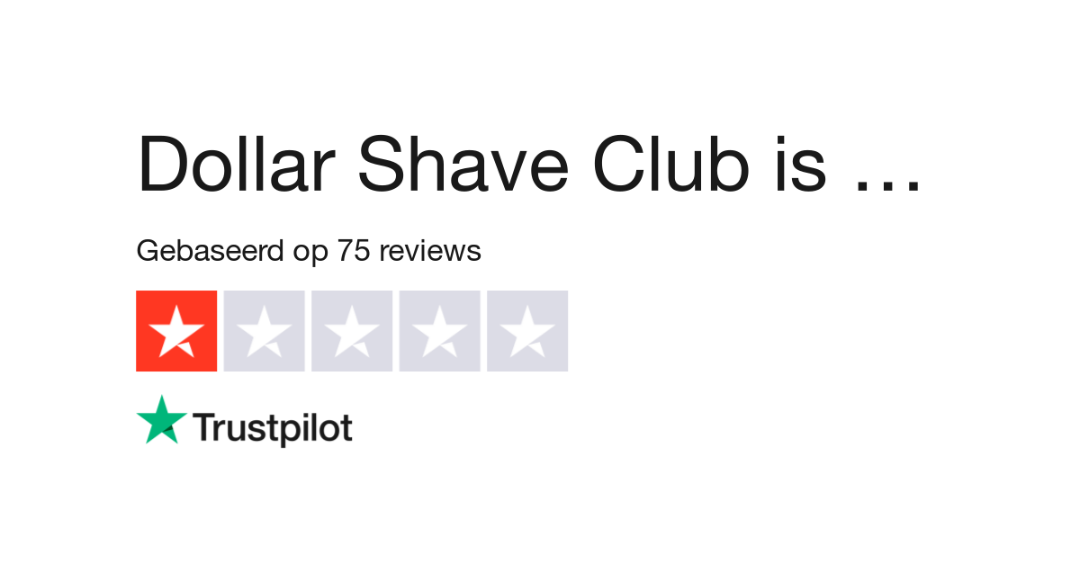 Dollar Shave Club reviews.