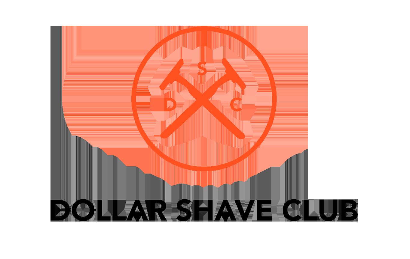 Dollar shave club Logos.