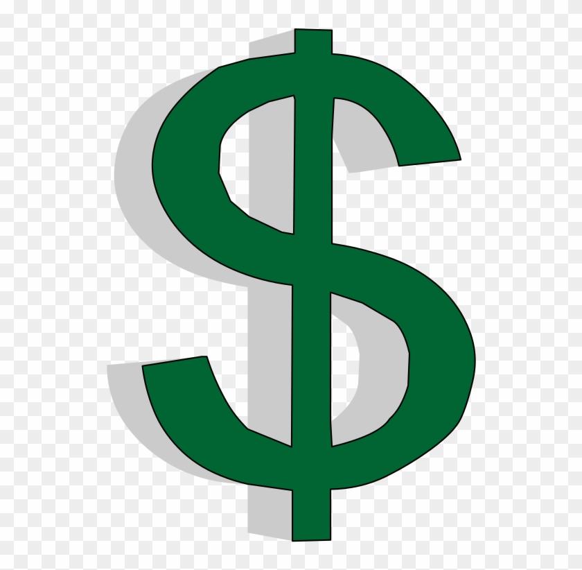 Dollar Symbol In 3d.