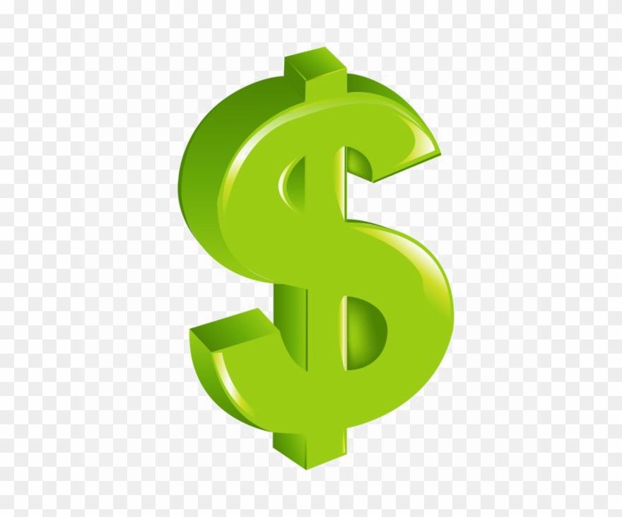 Green Dollar Transparent Image.