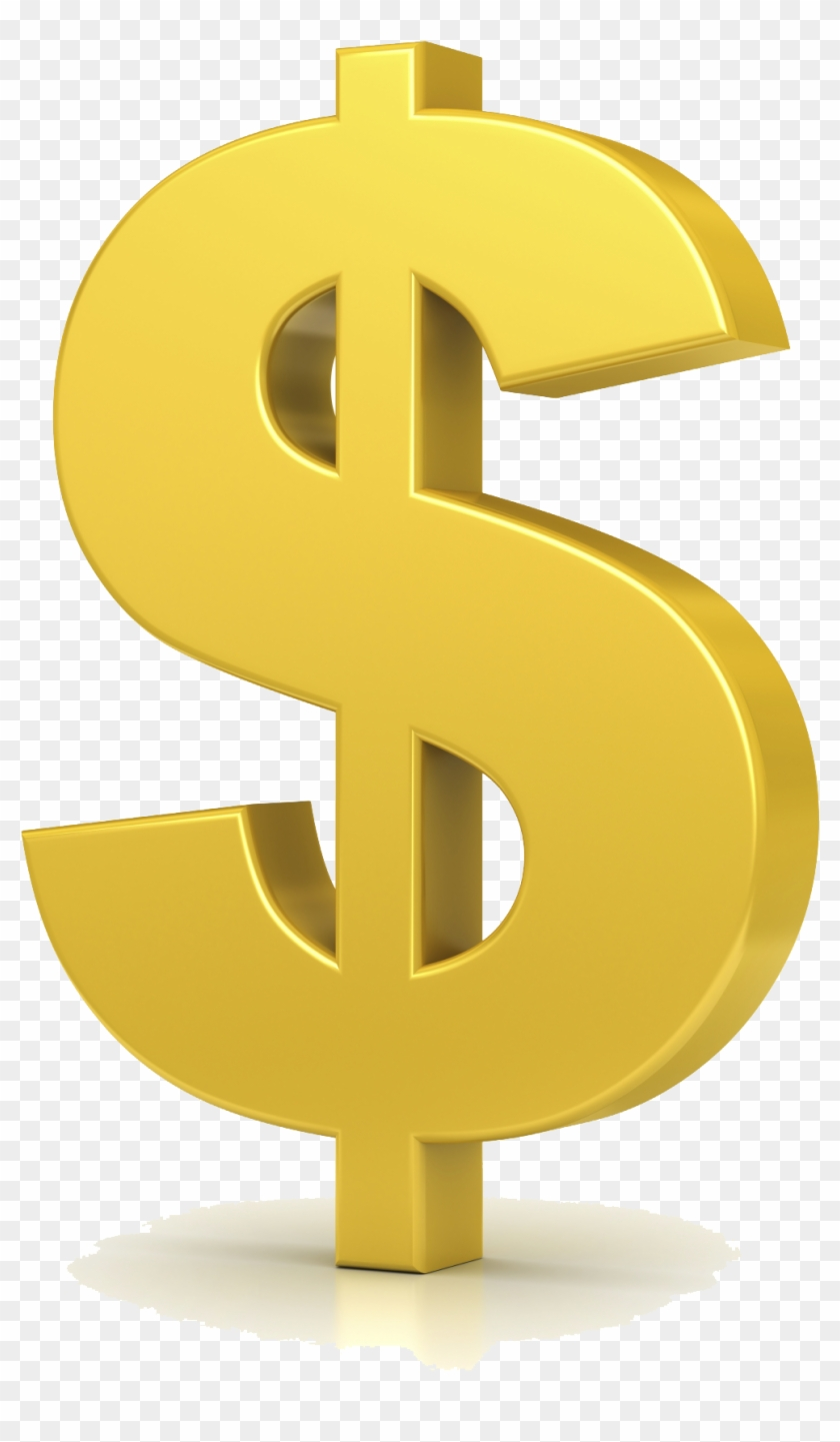 28 Collection Of Gold Dollar Sign Clipart.