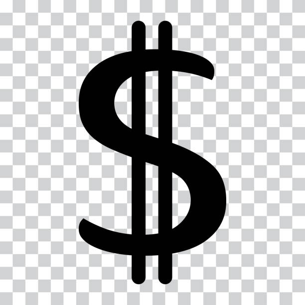 Top Dollar Sign Transparent Background Clip Art Vector Graphics And.