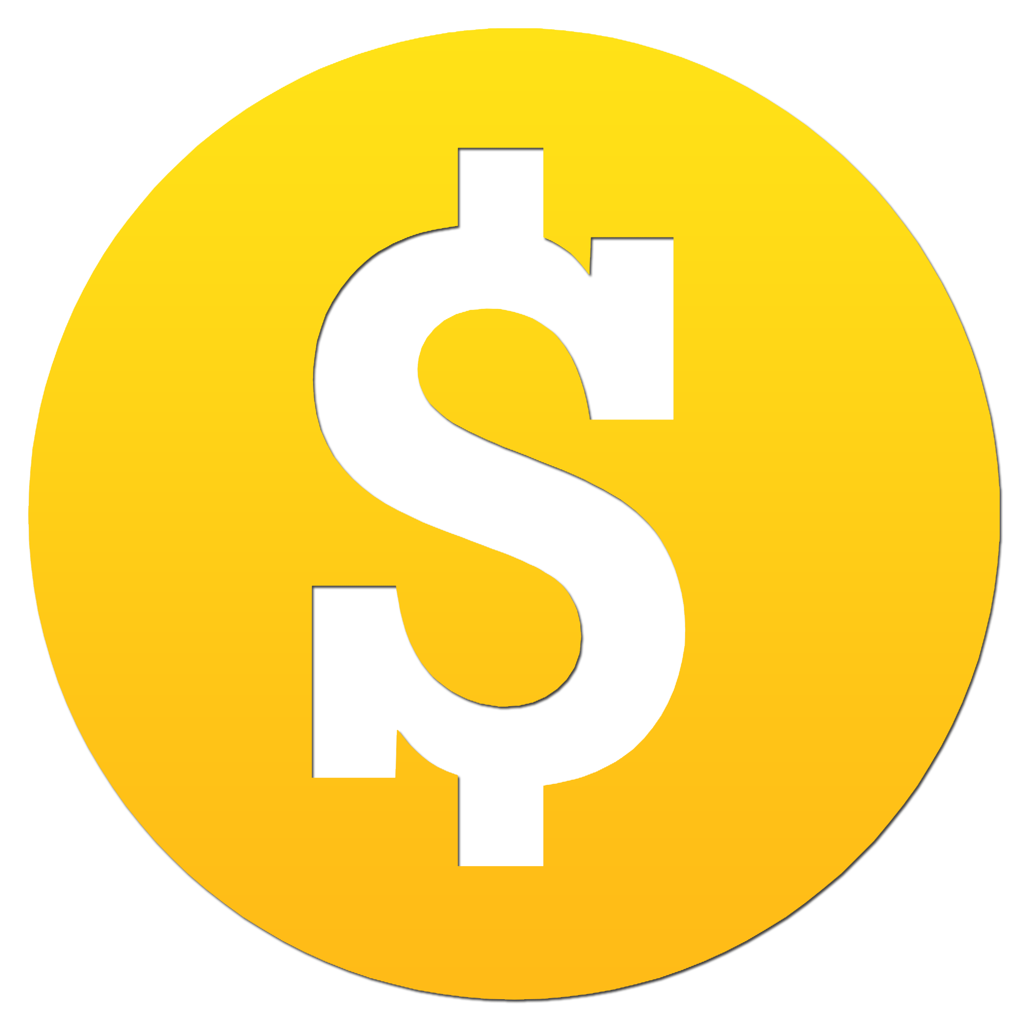 Dollar Sign Icon Png #3550.