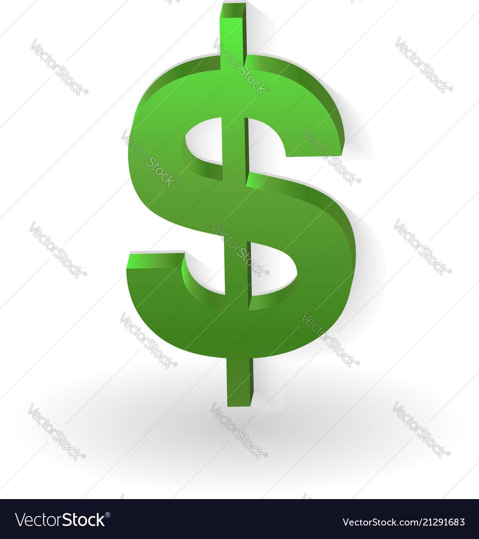 Green dollar sign icon.