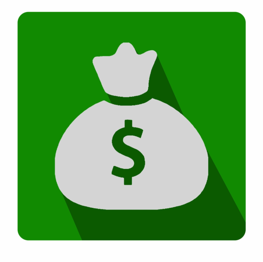 Bag Of Money Dollar Sign Icon.