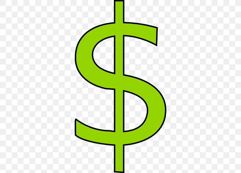 Dollar Sign Money Currency Symbol Clip Art, PNG, 312x591px.
