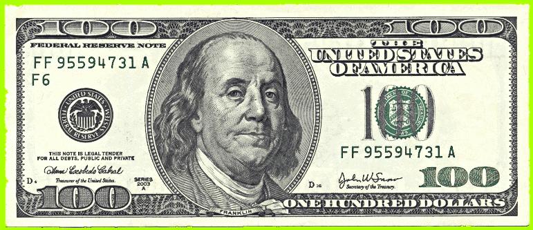 500 Dollars Clipart.