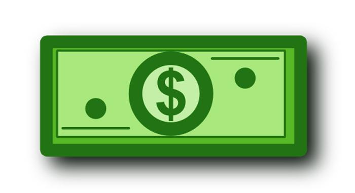 Dollar money clipart.
