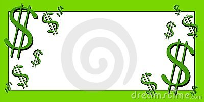 Dollar Signs Money Clip Art Stock Photography.