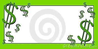 Dollar Signs Money Clip Art Stock Photography.