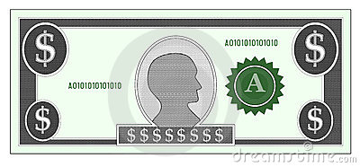 Clipart money bills.