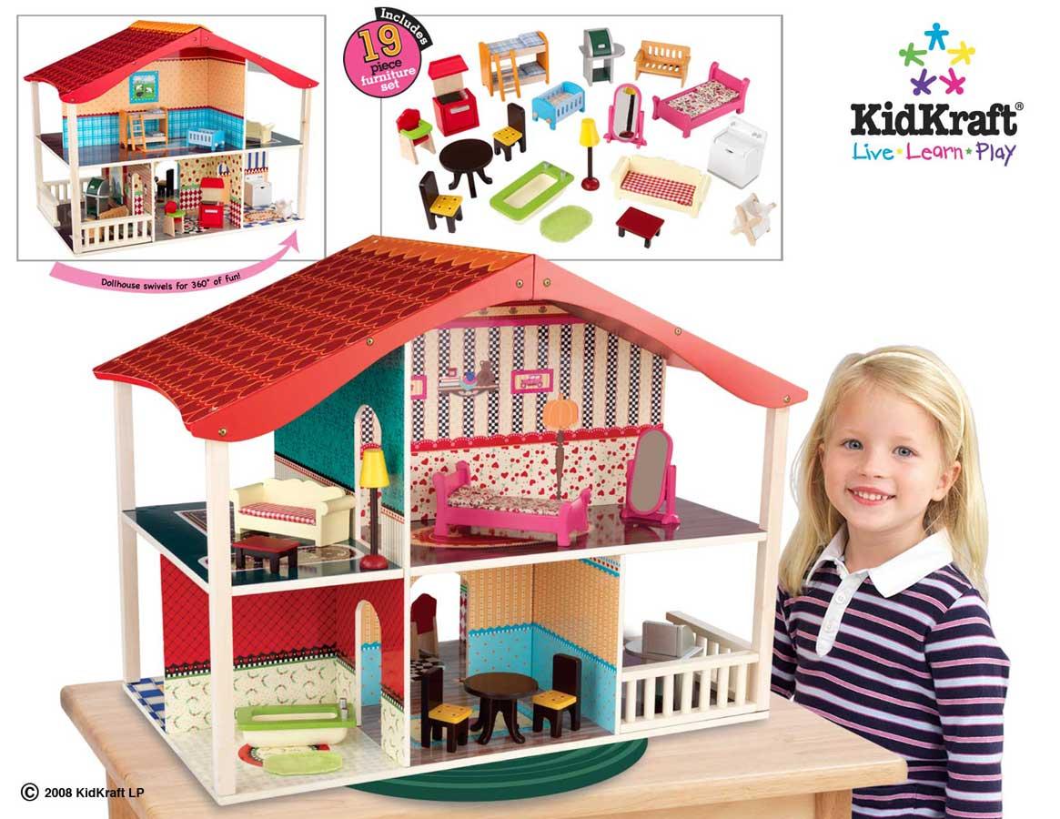 Dollhouse Clip Art Items.