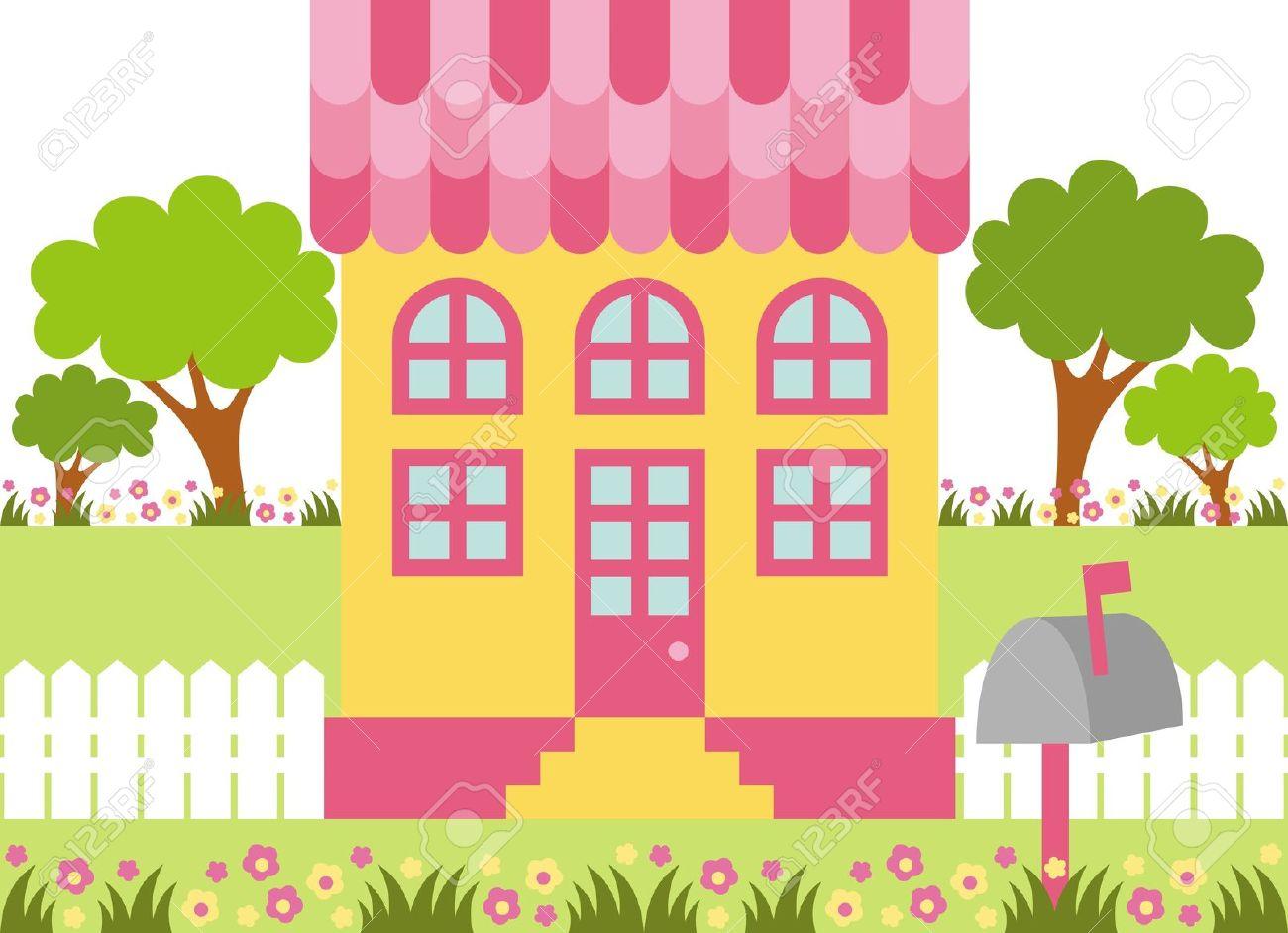Dollhouse Clipart.