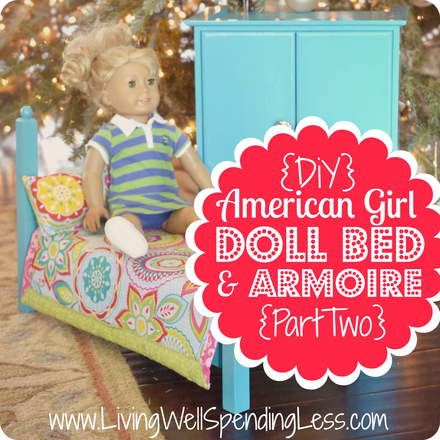 American girl doll furniture clipart.