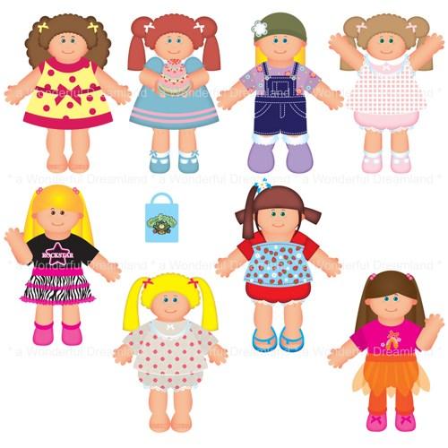 Doll images clip art.