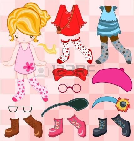 2,522 Paper Doll Cliparts, Stock Vector And Royalty Free Paper.